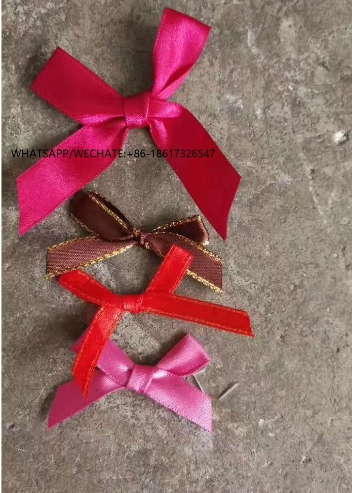 Stocklot Satin Ribbon Bow For Bra and Lingeries