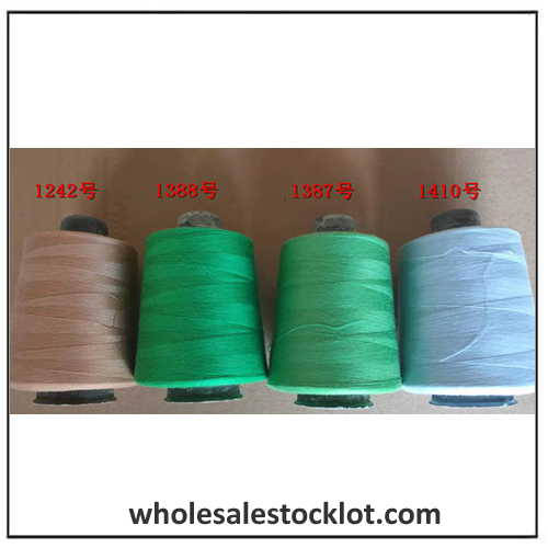 100% Polyester Stable Fiber Sewing Threaded