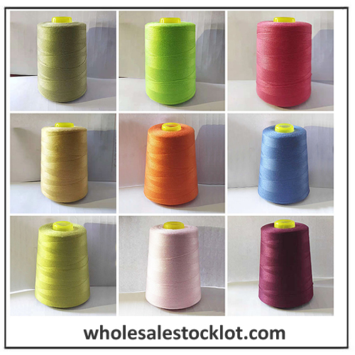 100% Spun Polyester Sewing Thread Stocklot