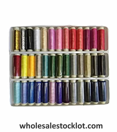 Assorted Color Polyester Sewing Thread