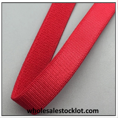 Clear Stock Red Elastic Tape China Stocklot