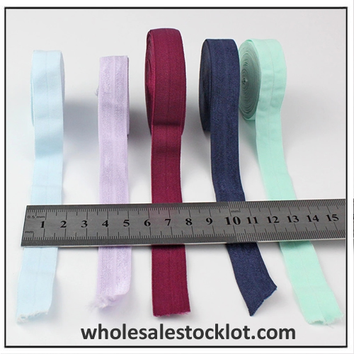 Factory Inventory Colorful Soft Woven Elastic 15mm Width