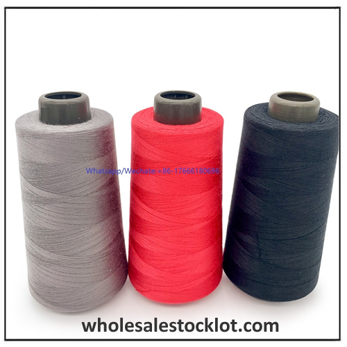Wholesale Colorful 100% Spun Polyester Sewing Thread in Assorted Colors for Embroidery