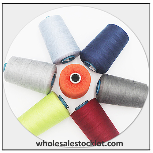 Wholesale Weaving Thread Sewing Thread Stock Inventory