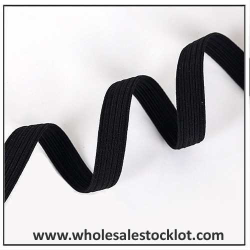 Flat Braided Elastic Band Tape Webbing Stocklot
