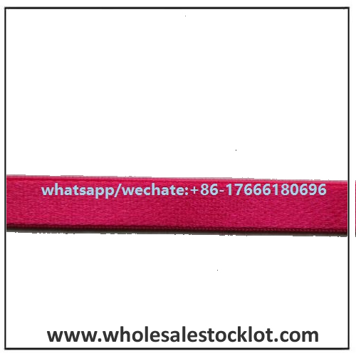 Red Flat Garment Elastic Band in China