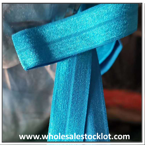 Wholesale Blue Elastic Webbing High Quality Elastic Band Strap