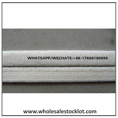 Wholesale Nylon Knitted Elastic Tape White