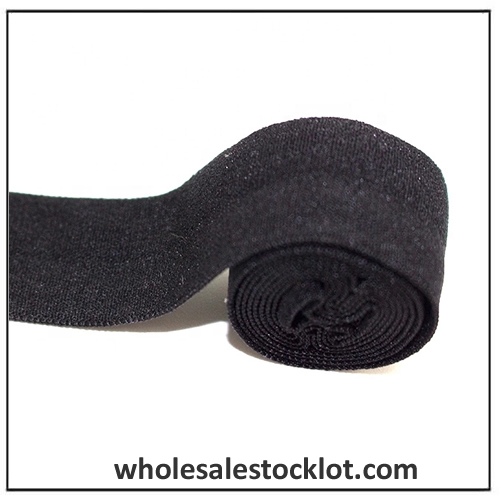 Black Woven Elastic Webbing Band For Underwear
