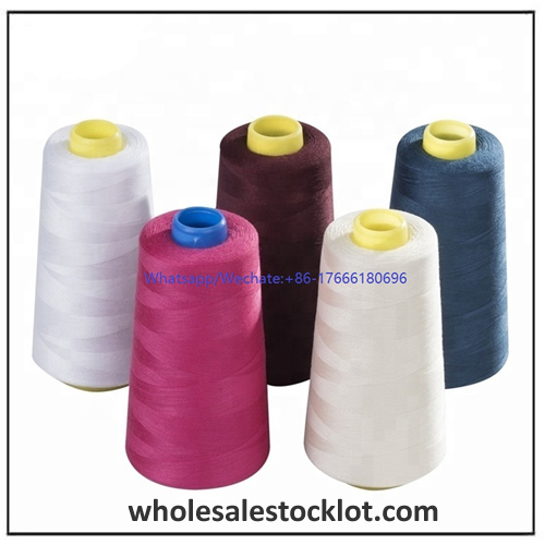 Colorful Polyester Sewing Threaded for Clothing Accessories