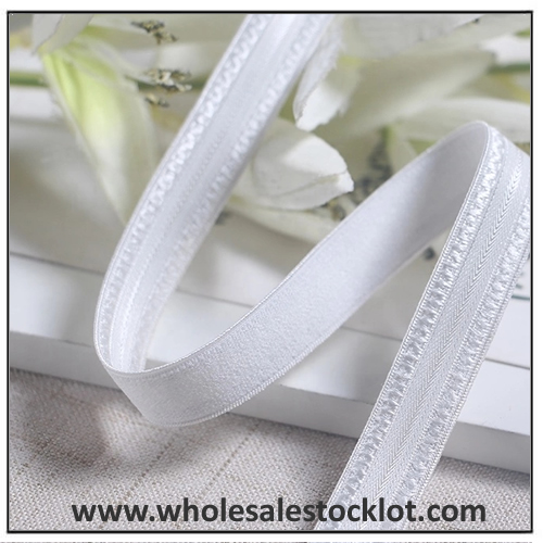 Wholesale White Elastic Fabric Bands For Underwear