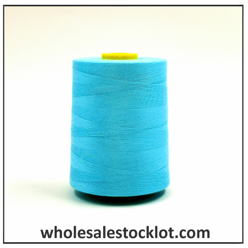 100% Polyester Twisted Sewing Thread