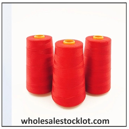 600 Colors Custom Knotless Polyester Sewing Thread Wholesale