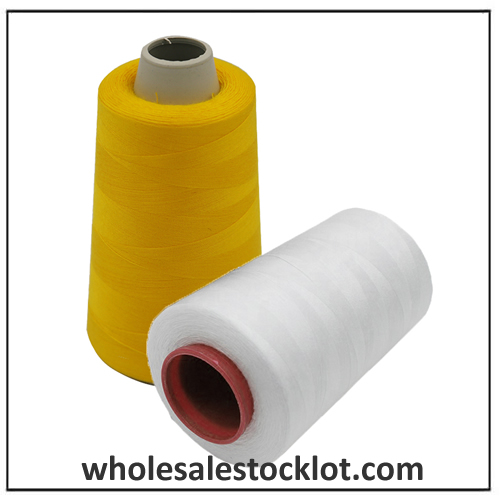 High Strength Polyester Fabric Sewing Thread Stocklot