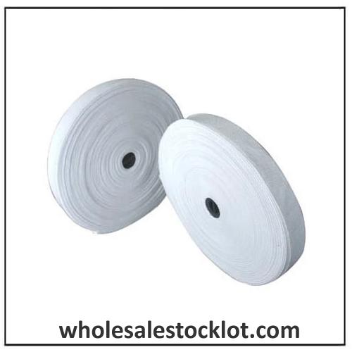 White Woven Elastic Tape